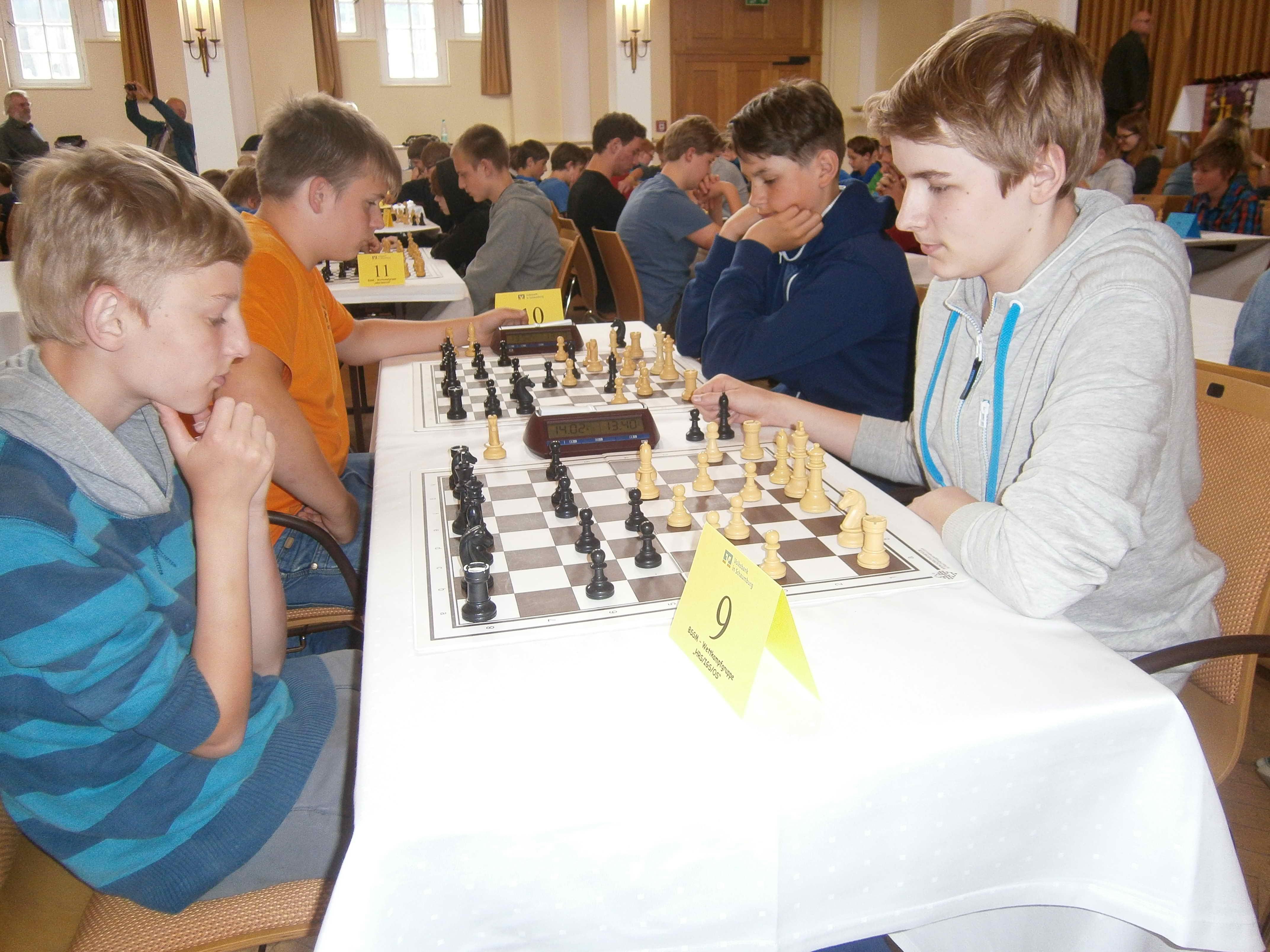 Die 8. Bückeburger Schulschachmeisterschaften – Die IGS wieder ganz vorn!