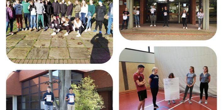 Neue Schulsportassistenten an der IGS Helpsen
